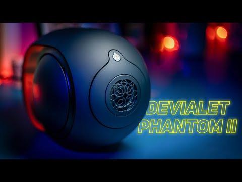DEVIALET PHANTOM II 95dB - La moins chère et la plus petite des enceintes Devialet : TEST COMPLET
