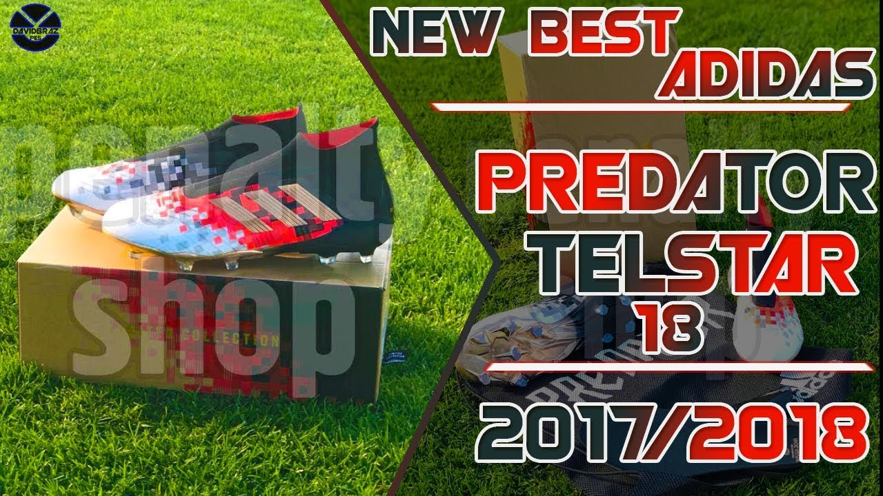 acoso mineral cantante  PES 2013 | New Boots • Adidas Predator 18+ • 2017 / 2018 • HD - YouTube