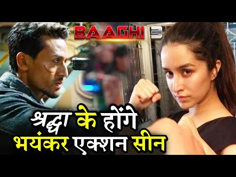 Baaghi 3 Shraddha Kapoor Performing Heavy Duty Action Scene with Tiger Shroff Mp3