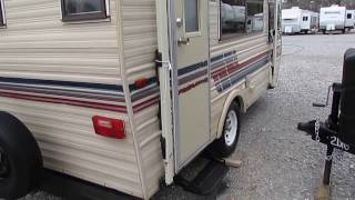 1988 Sunline Saturn 17 ft Travel Trailer, Very Clean , Many New Upgrades, $3,995