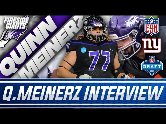EXCLUSIVE: New York Giants OL Prospect   Quinn Meinerz   University of Wisconsin-Whitewater