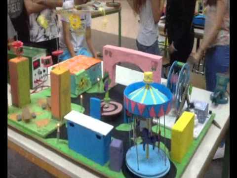Proyecto tecnolog a 39 parque de atracciones 39 ies celestino - Como hacer un parque infantil ...