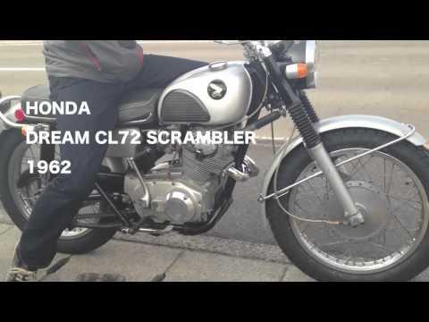 HONDA DREAM CL72 SCRAMBLER Airstream ホンダ バイク vintage