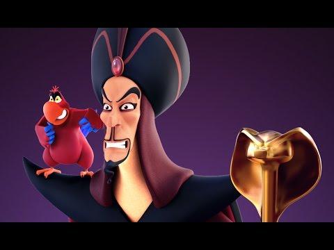 Disney Aladdin Jafar and Iago 3D Zbrush