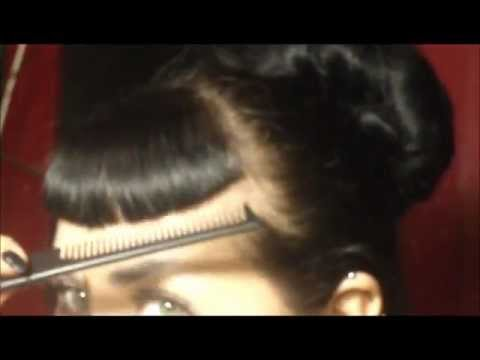How I Cut My Bettie Bangs
