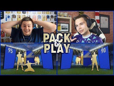 CO ZA TRAF! - TOTS PACK & PLAY z Junajtedem!   FIFA 18