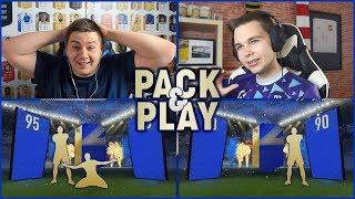 CO ZA TRAF! - TOTS PACK & PLAY z Junajtedem! | FIFA 18