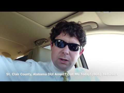 St  Clair County, Alabama DUI Lawyer - Attorney for St  Clair County, AL DUI Arrest
