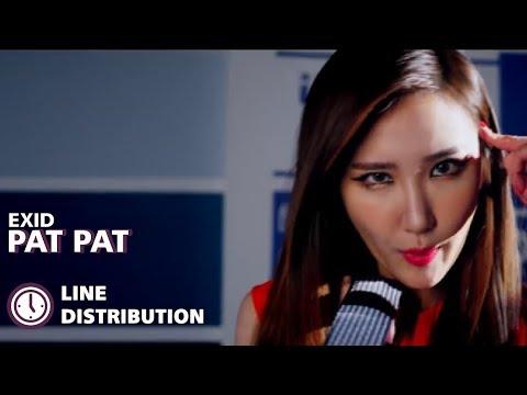 Free Download Exid (이엑스아이디) - 'pat Pat (토닥토닥)' (line Distribution) Mp3 dan Mp4
