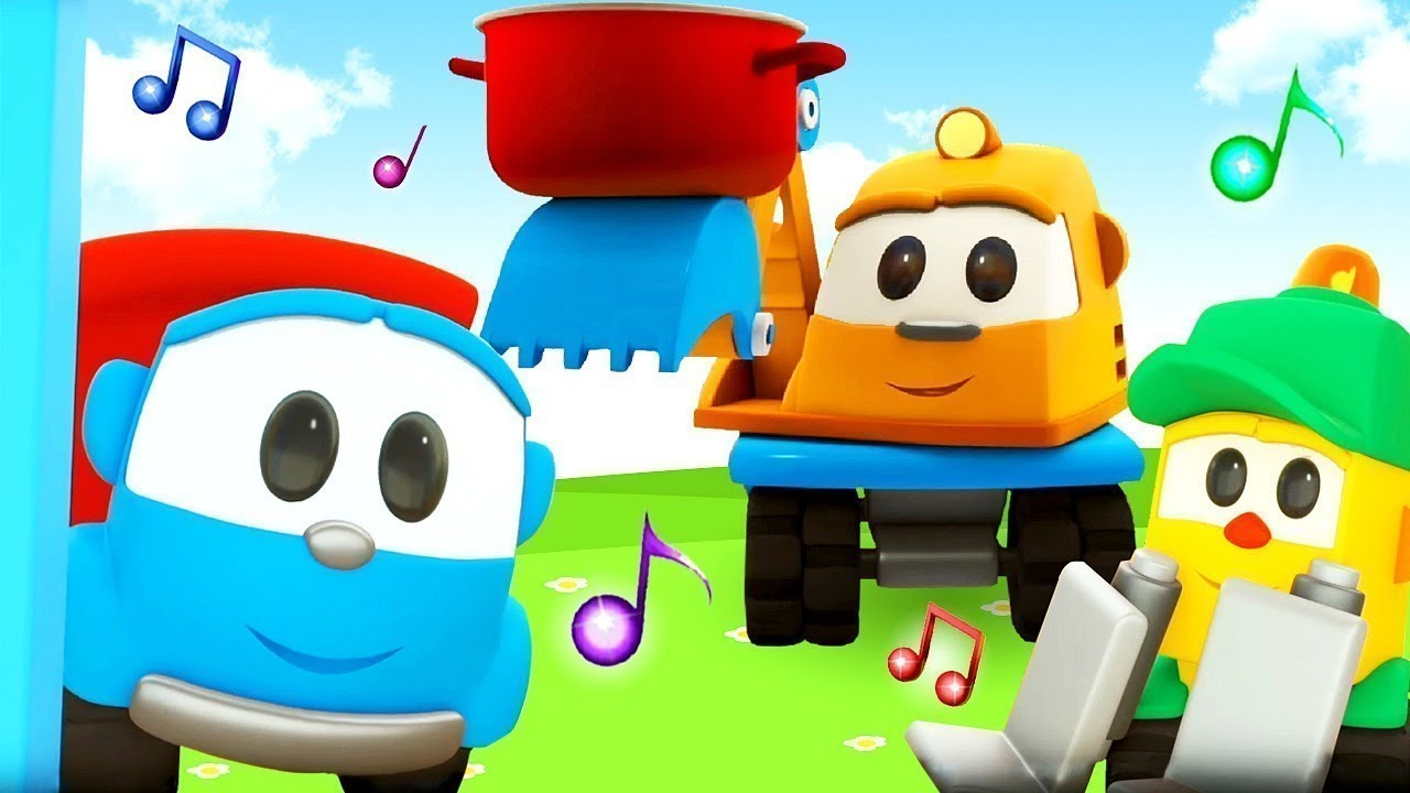Car cartoons for kids & The best songs! Leo the truck & @Songs for Kids