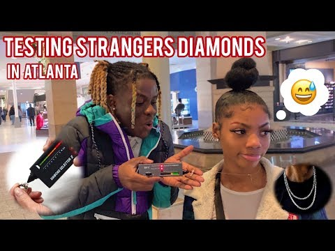 Download TESTING STRANGERS DIAMONDS😭💎 ATLANTA MALL EDITION | PUBLIC INTERVIEW Mp4 baru