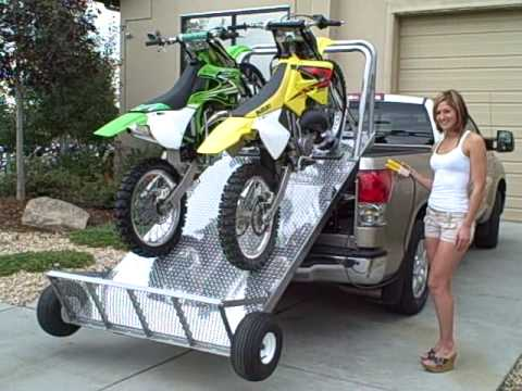 Unload And Load Your Dirt Bikes The Easy Way Elevation