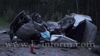 Авария на трассе Сургут-Лянтор