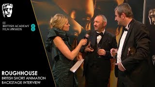 Roughhouse British Short Animation Backstage Interview | EE BAFTA Film Awards 2019
