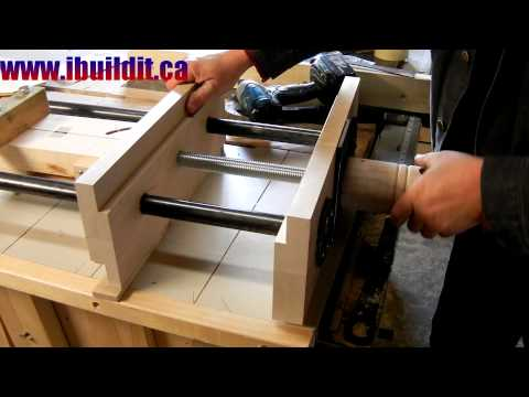 Homemade Woodworking Vise Preview