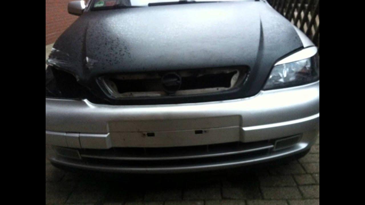 Opel Astra g 2,0 Wiederaufbau ..... - YouTube