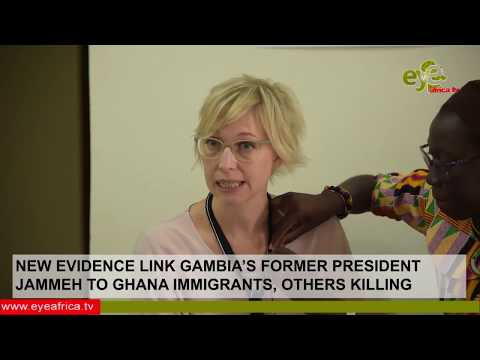NEW EVIDENCE LINK JAMMEH TO GHANA IMMIGRANTS, OTHERS KILLING