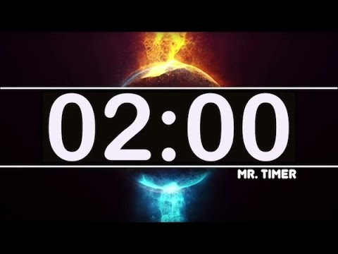 2 Minute Timer with Epic Music! Countdown Clock 2 Minutes, High Energy Cool  Timer HD!