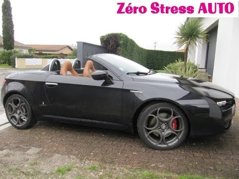 roadster alfa romeo brera spider 1750 tbi turbo 200hp pz ro 19 pouces my2010 by zerostressauto. Black Bedroom Furniture Sets. Home Design Ideas
