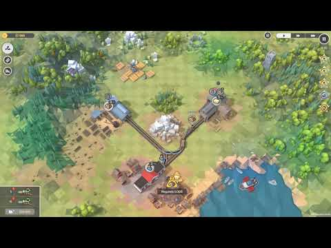 Train Valley 2 - Level 1: The Forestry (5 Stars) |