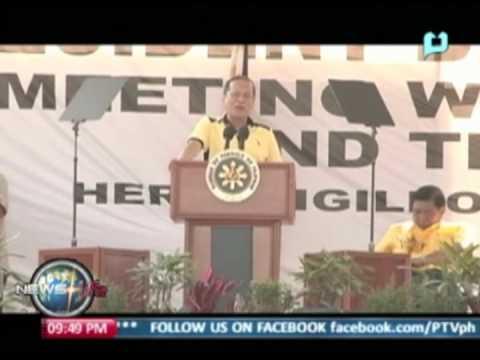 President Aquino visits Bais City, Negros Oriental