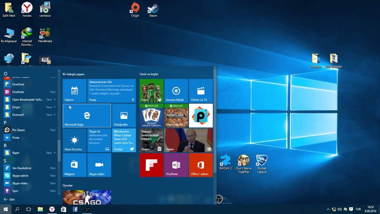 Windows 10 - Paint - Ekran alıntısı aracı yok {Çözüm} - YouTube