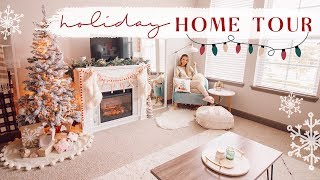 HOLIDAY HOME TOUR   Our cozy apartment! ✨