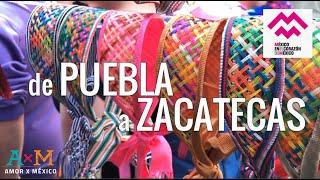 🇲🇽 COLORES de México; de Puebla a Zacatecas - Expo Parte 3