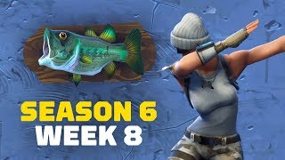 Fortnite: Dance with Fish Trophies and Shooting Clay Pigeons (Week 8)