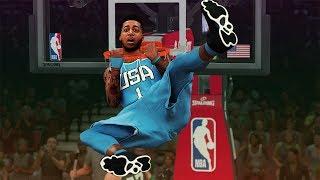 DISRESPECTFUL Posterizer at Rising Stars All Star Game - NBA 2K20 MyCareer #9