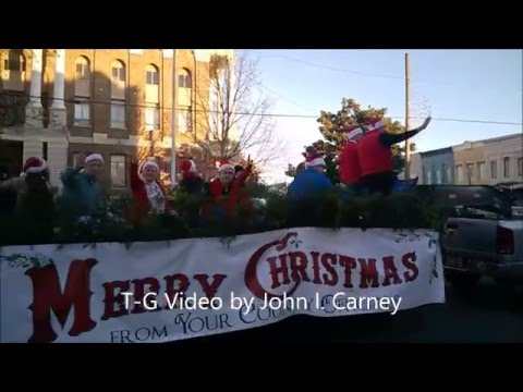 Shelbyville, Tenn., Christmas Parade 2015