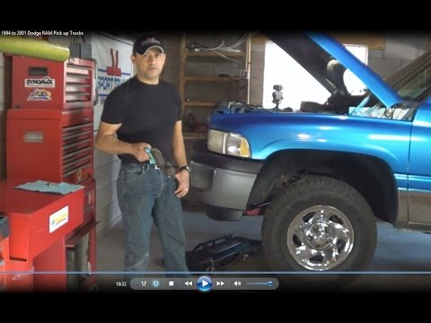Dodge Ram Trucks >> Pitman Arm Replacement 1994 to 2001 Dodge RAM Pick up Trucks RWD by Howstuffinmycarworks - YouTube