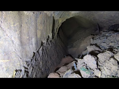 Digging Out And Exploring A Lost Underground Gold Mine Tunnel