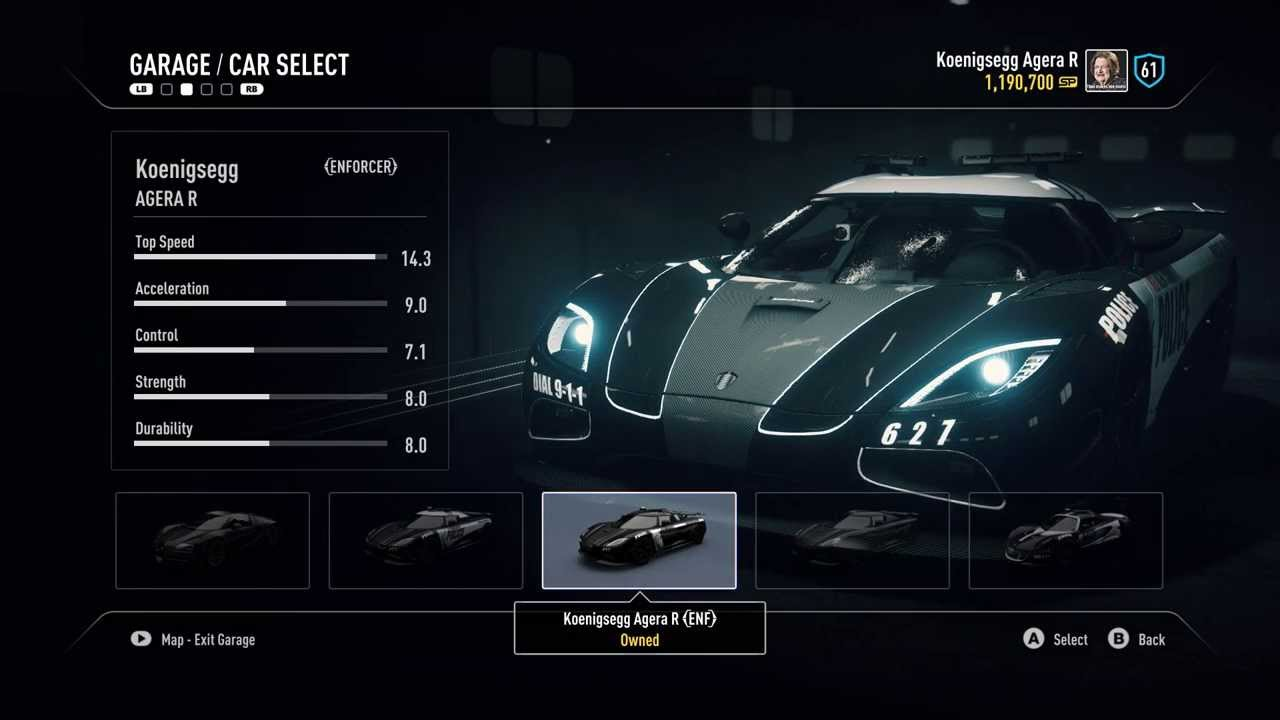 Need for Speed Rivals - Complete list of cop cars - YouTube