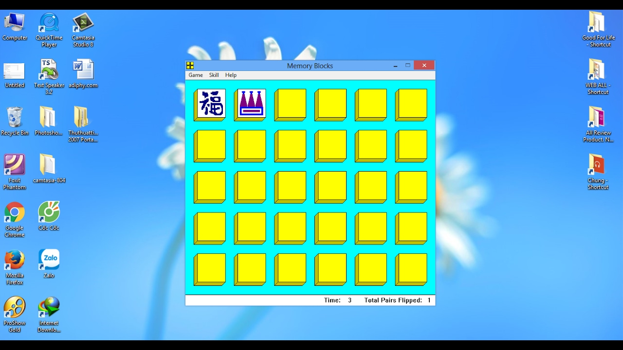 Le Huu Nhiem – Trò chơi Blocks Tin học lớp 3