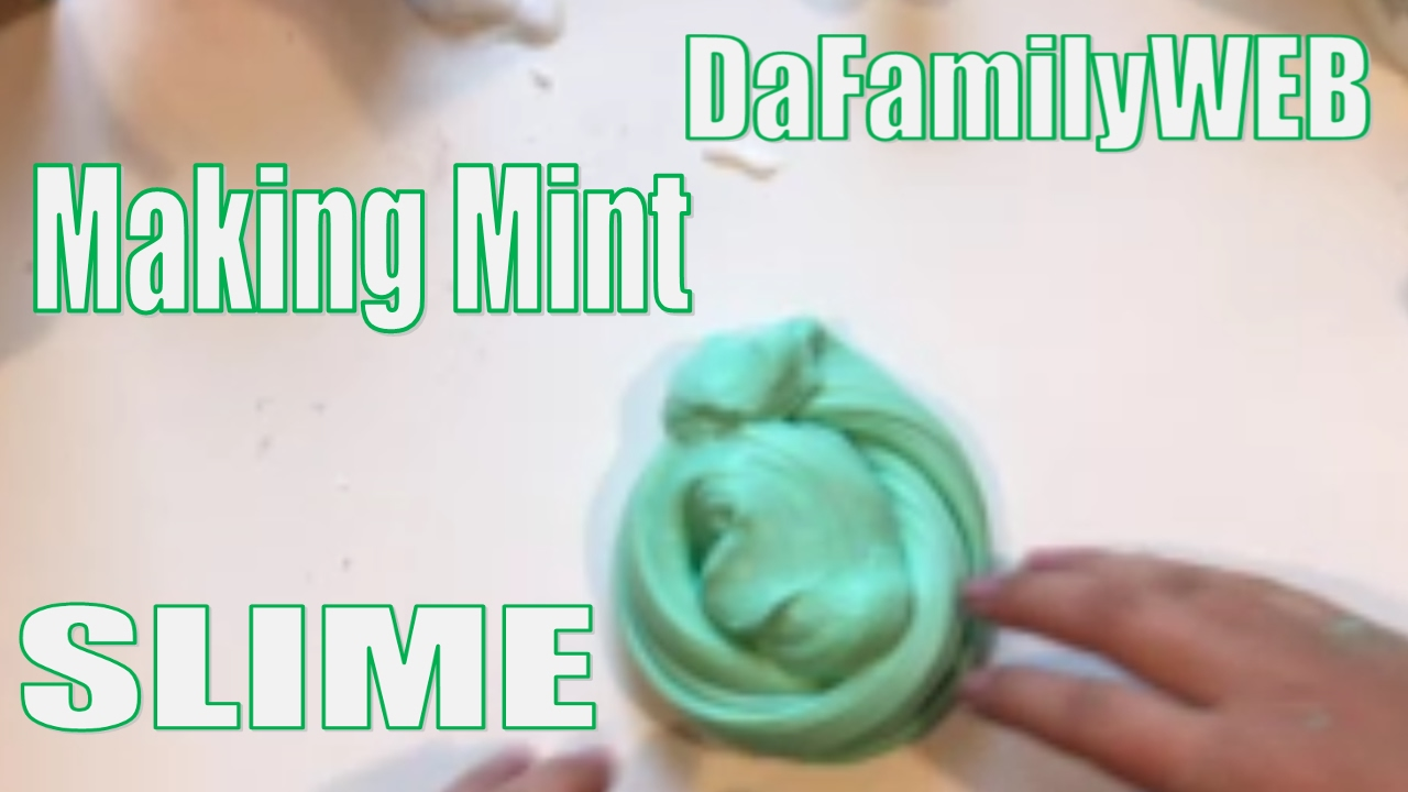 Making Mint SLIME! Making Mint Slime with ARGO Tutorial