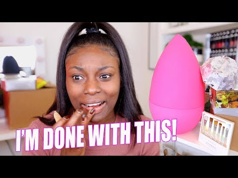 SERIOUSLY THIS IS GETTING RIDICULOUS!| WHY I'M SAYING NO MORE TO PR! MY LAST BEAUTY UNBOXING EVER!
