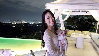 韓國女生的台灣日常 | 陽明山景觀餐廳????| 我想對大家說????| 紅葉蛋糕 | 대만vlog