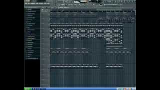 FL Studio 10   скрипка и бит