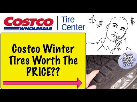 Costco Blizzak Winter Tires Are They Worth The Price?? Pt 1