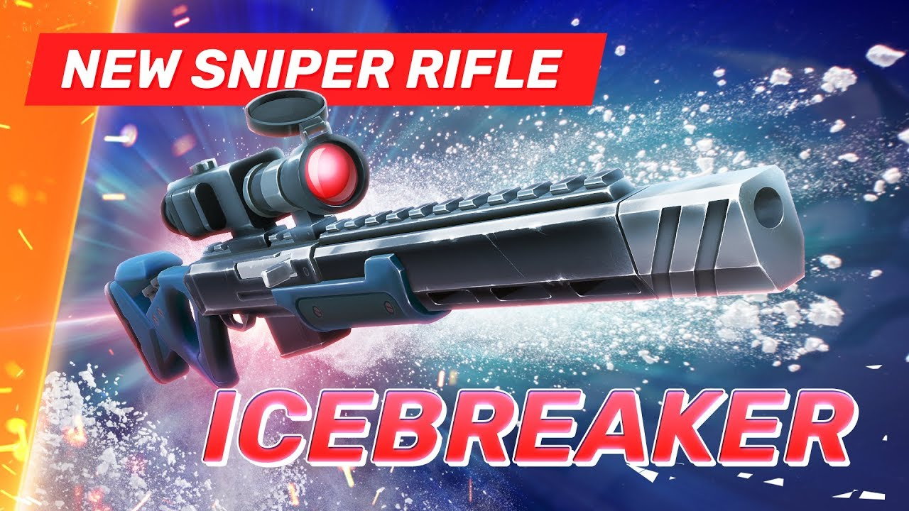 New Sniper Rifle - Icebreaker - Guns of Boom