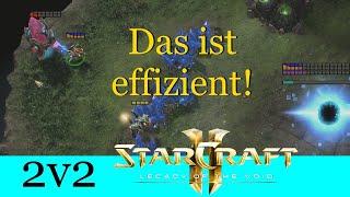 Das ist effizient!  - Starcraft 2: Legacy of the Void 2v2 [Deutsch | German]