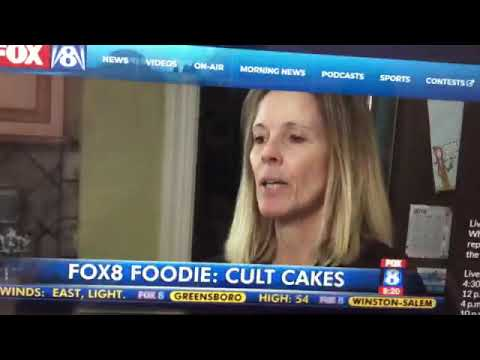 Fox 8 News Features Greensboro, NC Bakery Cult Cakes!