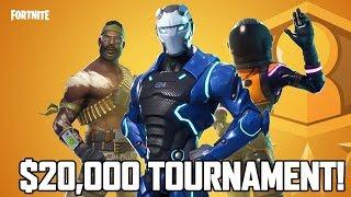 $20,000 TOURNAMENT - Highest Average Placement Team!  (Fortnite Fridays NoahJ456 & Avxry)