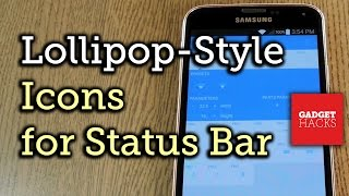 Get 5.0 Lollipop Status Bar Icons on Android 4.3 and 4.4 [How-To]