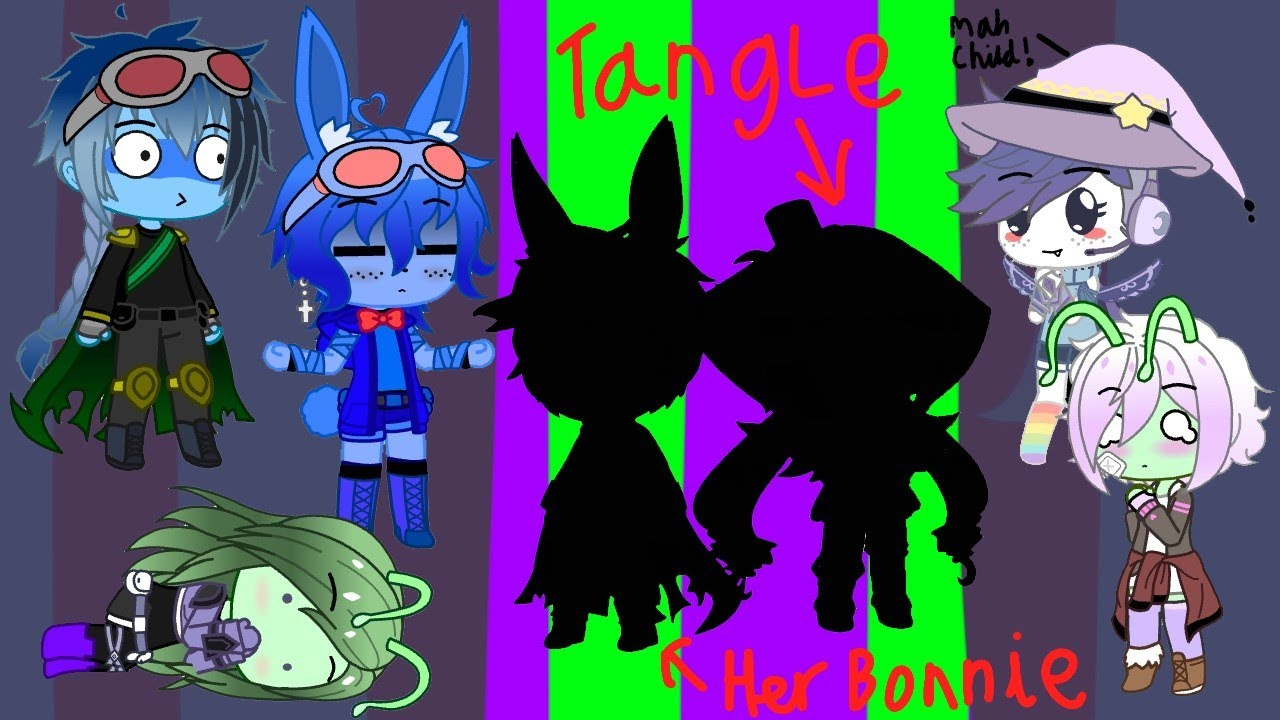 Bonnie's crew meet Tangle and her Bonnie! (Collab with tangle)