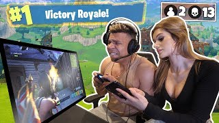 GIRLFRIEND FORTNITE DISTRACTION CHALLENGE (IMPOSSIBLE)