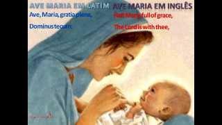 AVE MARIA LATIN E INGLÊS theraio7 (DOMÍNIO PUBLICO)