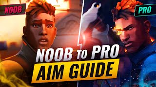 How To IMPROVE AÏM From NOOB To PRO! - Valorant Aim Guide