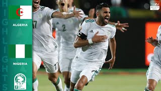 HIGHLIGHTS: Algeria vs. Nigeria